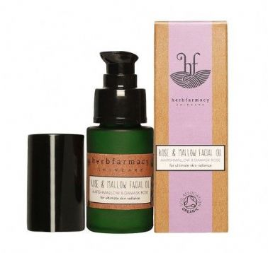 Herbfarmacy Rose & Mallow Face Oil 25ml